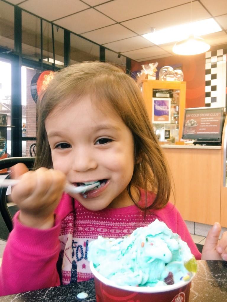 onyx and blush frozen treat
