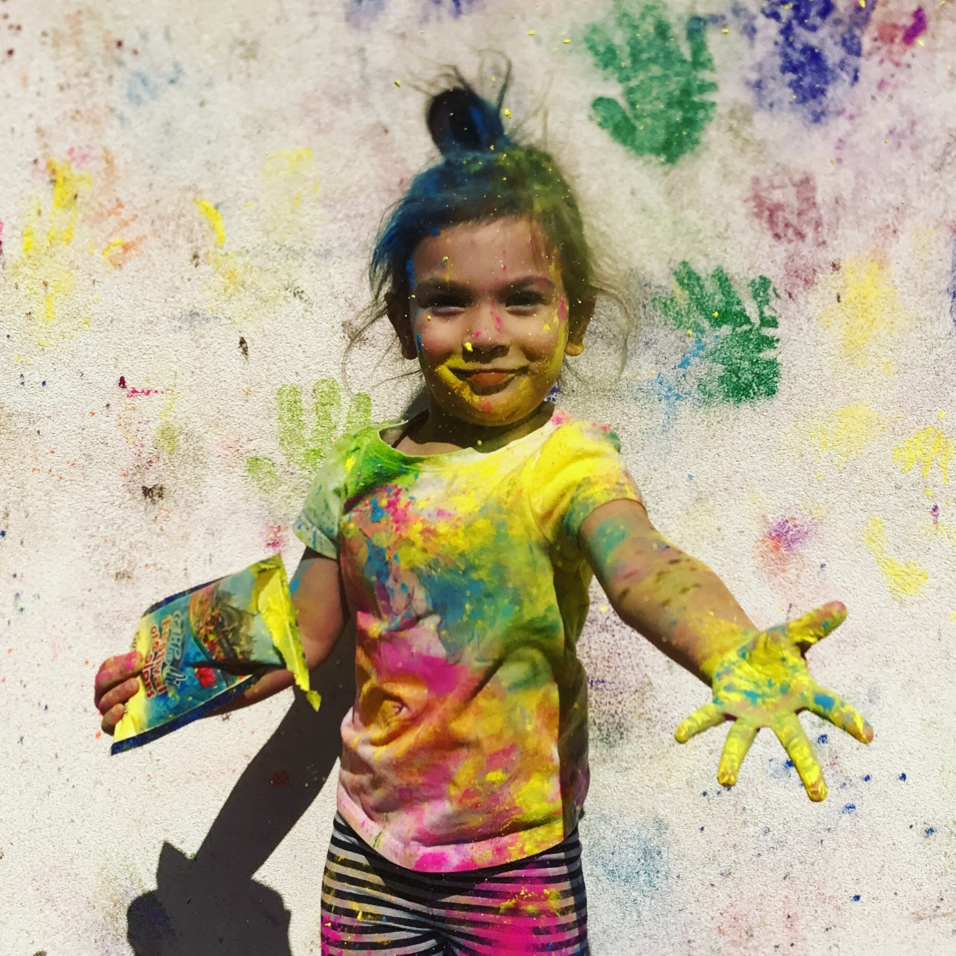 Holi Festival of Colors from Onyx and Blush Co