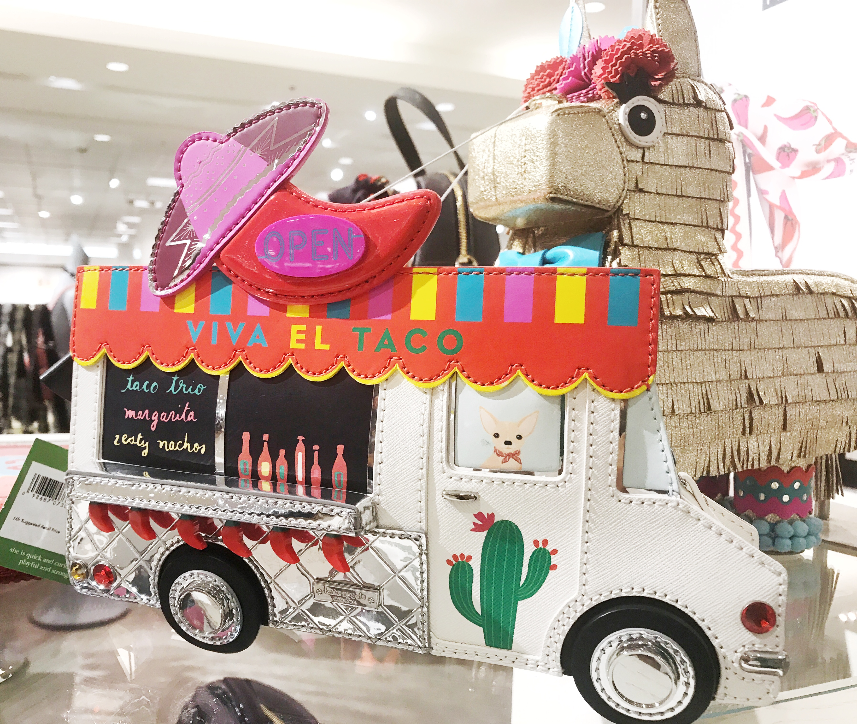 Kate Spade Taco Truck Purse at Nordstrom Anniversary Sale on onyx and blush